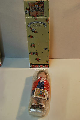 Maria-- New in box Mary Engelbreit Porcelain Doll NOS Vintage