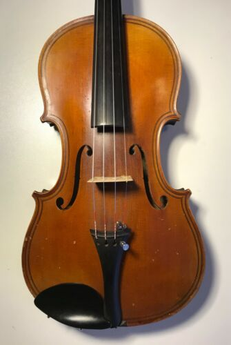 Very good old Mirecourt violin c1890 labeled Guarneri - huge sound, VIDEO!