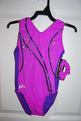 GK Elite Gymnastics Leotard - Adult Small - Purple