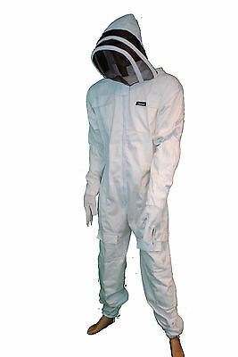 Pros Choice Best Beekeeping Full Suit 100cottonwith Glovesmediumthreadr