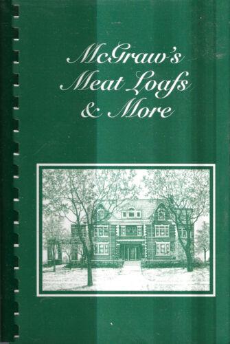TALLULAH TIPTON LA 2012 KITTY & JOE MCGRAW FAMILY MEAT LOAFS & MORE COOK BOOK