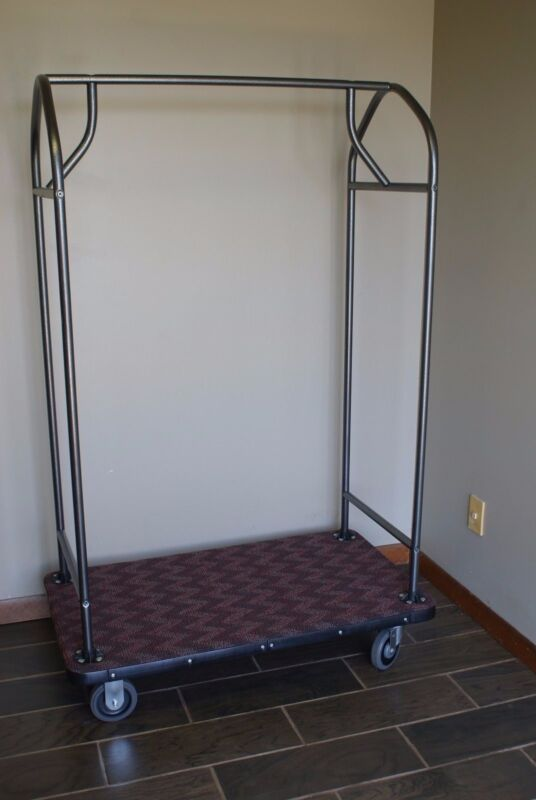 "NEW Hotel Luggage Cart 71"" Heavy Duty Suitcase Trolly"