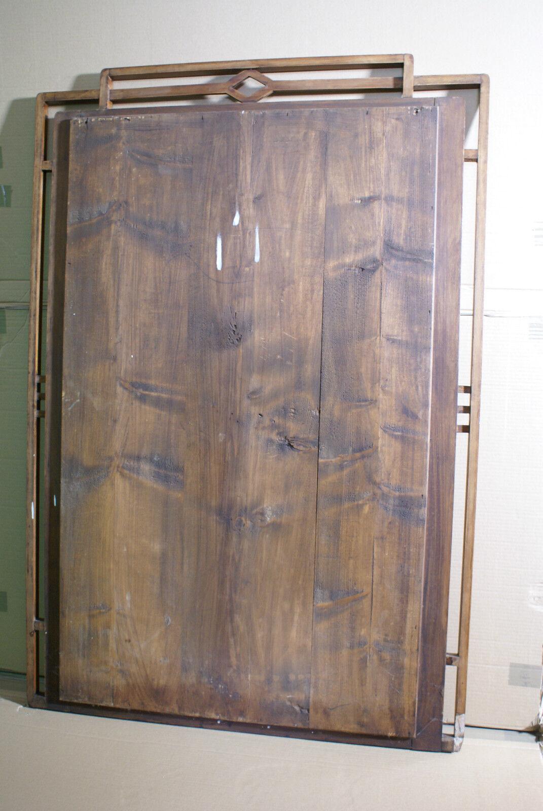 antiker spiegel mit facettenschliff und holzrahmen um 1910 nu baum eur 465 00 picclick de. Black Bedroom Furniture Sets. Home Design Ideas