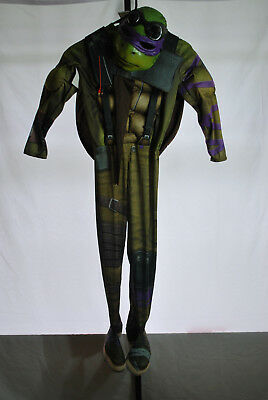 TMNT Donatello Halloween Costume New Movie Kids Sz M 8-10