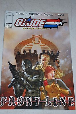 2002 Image GI Joe Front Line Comic Book #1 Cover A THE MISSION THAT NEVER WAS