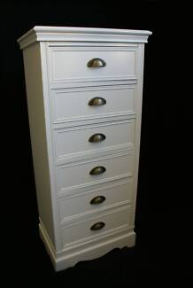 NEW FRENCH PROVINCIAL TALLBOY DRESSER DRAWER CUPBOARD - FG3551 Chipping Norton Liverpool Area Preview
