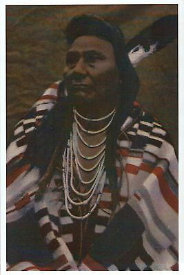 Chief Joseph, Native American Indian, Nez Perce, Feather etc. -- Modern Postcard