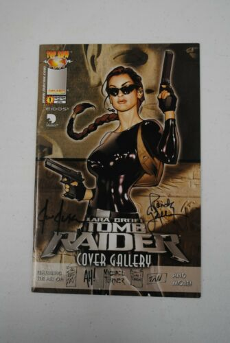 Tomb Raider Cover Gallery Image Signed Adam Hughes, Jusko and more!