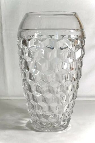 Fostoria Crystal American Cupped In Top Vase *RARE*