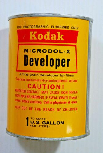 KODAK Microdol-X  Black & White Developer~Makes 1 Gallon~Darkroom Photo Film