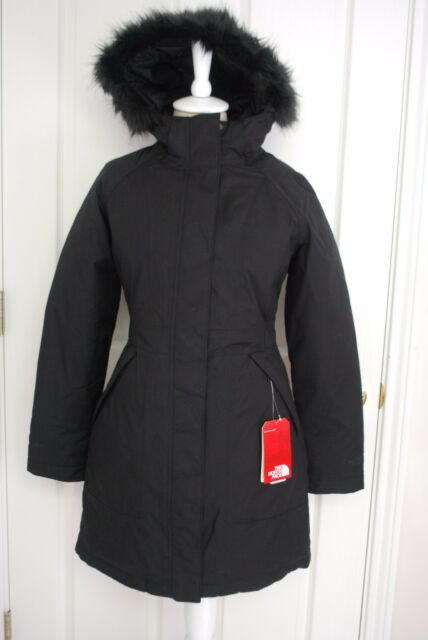 The North Face Arctic Down Womens Parka Coat TNF Black Size Small ...