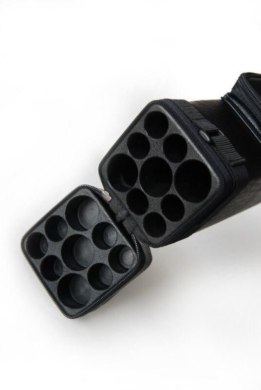 3x6 Hard Tube Square 3Butt 6Shaft Pool Cue Stick Case - Cue Case - Billiard Case