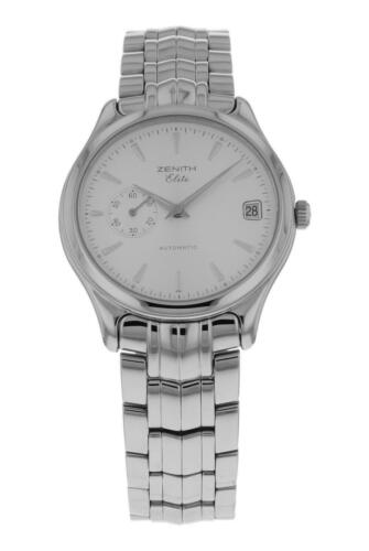 Zenith Elite Automatic 36mm Men's Stainless Steel Watch 90/02 0040 680 - watch picture 1