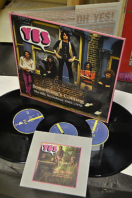 2 lp 33 yes 7 45 something's coming the bbc recordings 1969-1970 apribile