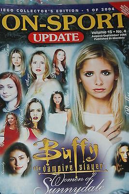 NSU Non Sport Update Magazine Buffy Comic Con Cover vol 15 #4 2004