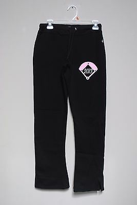 Ladies Size S Black Badger Sport Jogging Pants Pink 2013 Diamond Dolls Baseball Women's Clothing