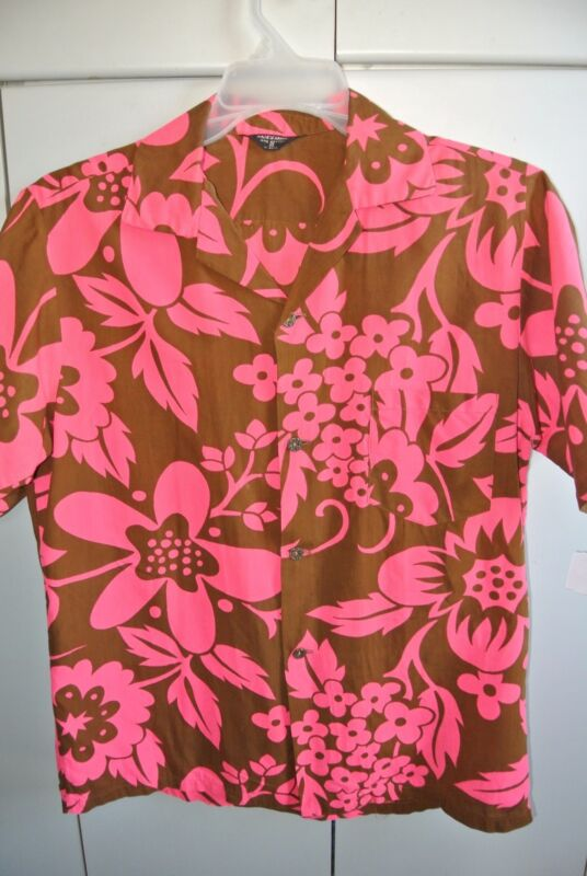 Made in Hawaii Mens Medium  Fabulous Psychedelic Pareau Vintage 1960s/Nice