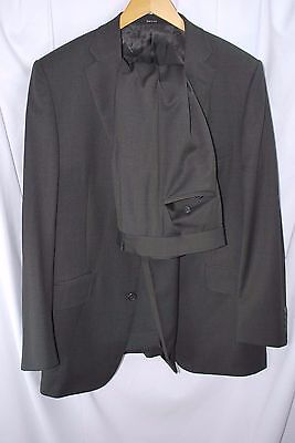 Dunhill London 40R dark green wool suit made in Italy