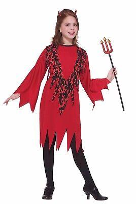 Child Devil Girl Costume - Devil Costume For Girl