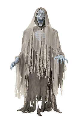 EVIL ENTITY LIFESIZE Haunted House 70in Halloween Prop Animated Ghost - Evil Entity Animated Halloween Prop