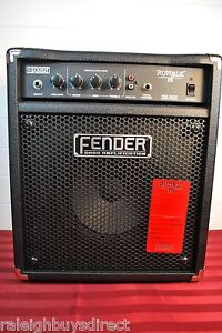 Fender Rumble 15 watt Solid State Combo Bass Guitar Amplifier