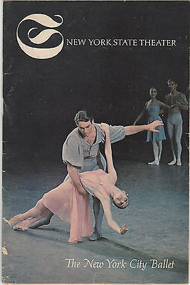 1966 Program New York City Ballet 42nd Season d'Amboise Villella