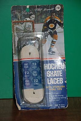 Vintage Hockey Skate Laces Phil Esposito Tony Esposito 7205B