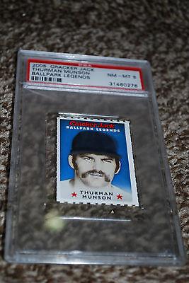 Thurman Munson New York Yankees Cracker Jack Card 2005 Baseb