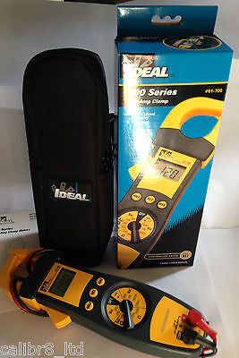 Tong Tester, Contractor Grade, Clamp On Ammeter & Multimeter Clearance Bargain - Grade Multimeter