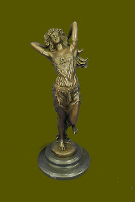 LARGE BRONZE STATUE After VITALEH, GYPSY GIRL. HOT CAST SALE (Hot Gypsy Girls)