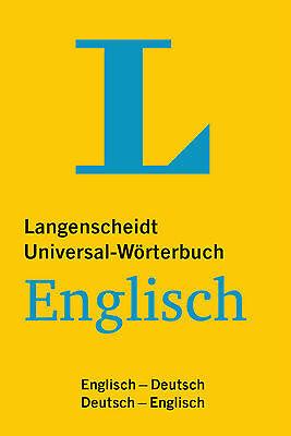 """TOP: LANGENSCHEIDT """"Universal-Wörterbuch"""" Englisch-Deutsch / Deutsch-Englisch"""