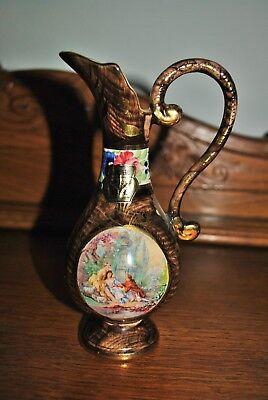 Bequet Hubert Belgique - Vase ancien - Old vase - Hauteur 18 cm