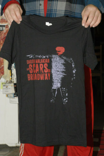 Daron Malakian System of a Down solo tour t shirt small new mint Scars Armenia