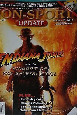 NSU Non Sport Update Magazine Indiana Jones Cover Vol 19 #3 2008