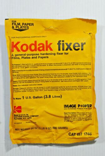 KODAK FIXER MAKES 1 GALLON FOR FILM, PAPER AND PLATES - SEALED