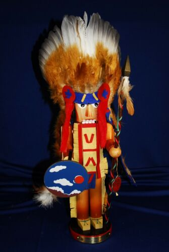 STEINBACH LTD ED CHIEF SITTING BULL Nr 637 - 1st IN FAMOUS CHIEFTAINS SERIES