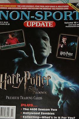 NSU Non Sport Update Magazine Harry Potter Cover vol 18 #3 2007