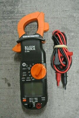 Klein Tools Cl1000 Multimeter Voltage Ohm Resistor Test Clamp Meter ---- C4