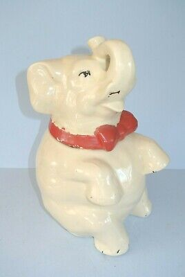 Vintage Shawnee Pottery Co. Elephant Cookie Jar