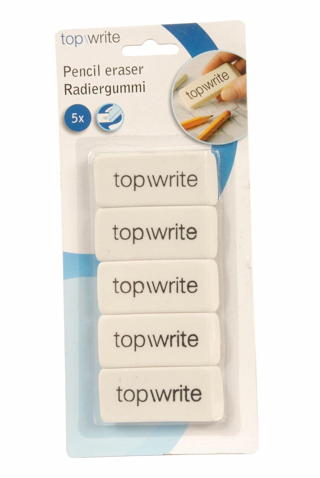 ED370 - Gomma per cancellare Topwrite - Confezione 5 pezzi