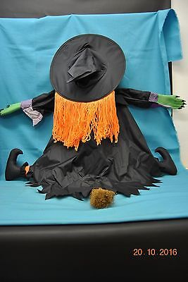 Wipe Out Witch Tree Crashing Witch Halloween Decoration Outdoor Wilma Wipeout - Witch Tree Decoration
