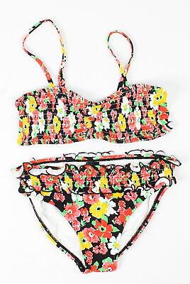 Billabong Jugendliche Mädchen Danny Smocks Bikini Satz Bademode Multi Blumen 10