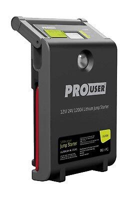 PRO-USER tragbare Starthilfe LI1200A für alle Motorräder, Autos und LKW; Booster
