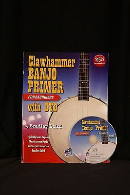 Watch and Learn Clawhammer Banjo Primer Book w/DVD beginner learning instruction