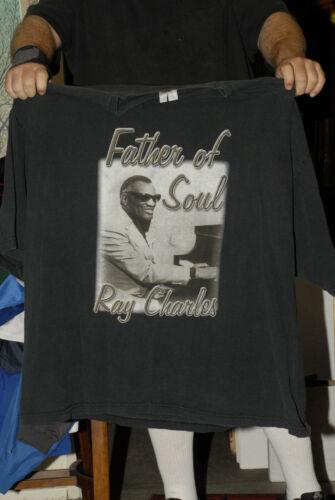 Ray Charles T shirt 5xl Father of Soul Piano jazz genius Jaime Foxx