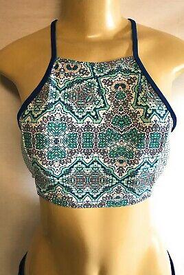 - Cabana Life High Neck Bikini Top