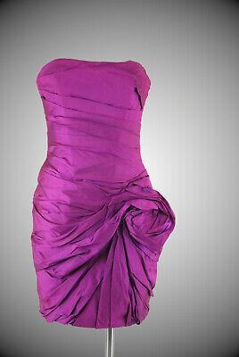 Reborn Dragon Cocktailkleid 36 magenta 100% Seide neu mit Etikett (Dragon Cocktail Dress)