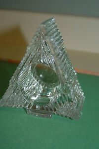 2-Avon-Christmas-Tree-Candlette-Votive-Tea-Light-Candle-Holder-Indiana-Glass