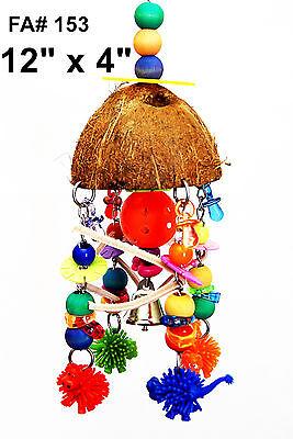 Pet Bird Parrot Cage Toys Coco Dino Amazon Lorie Conure Small Cackatoo Senegal
