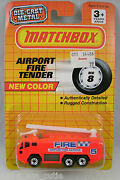 Matchbox Airport Fire Truck